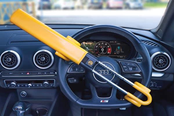 Anti-Theft Steering Wheel Lock- Car Locksmith